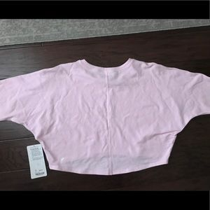 "NWT Lululemon ""Oh Hey Pullover"" Crop Sweater! sz 8"
